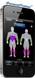 ipersonaltrainer - fitness workout iphone app